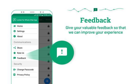 Locker for Whats Chat App screenshot 17