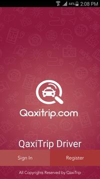 QaxiTrip Driver poster