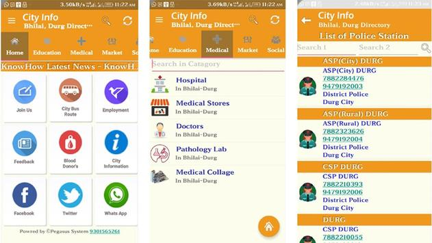 City Info Durg Bhilai CityInfo apk screenshot
