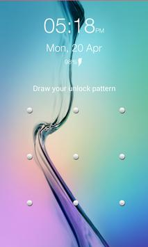 Lock Screen Pattern poster