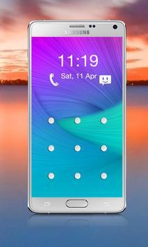 Galaxy Lock Screen Pattern apk screenshot