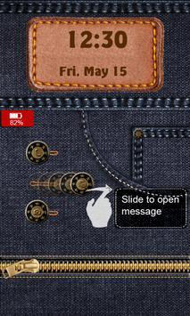 Jeans Lock Screen apk screenshot