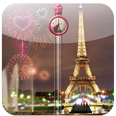 Paris Zipper Lock Screen icon