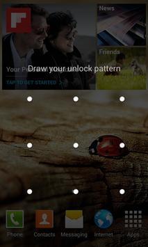 Transparent Pattern Lock apk screenshot