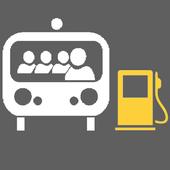 Fuel Consumption Truck icon