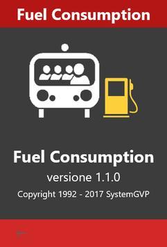 Fuel Consumption Truck poster