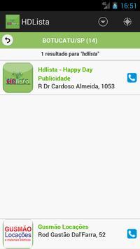 HD Lista screenshot 2