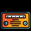 Radios GT-icoon