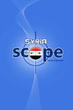 Syria Scope News poster