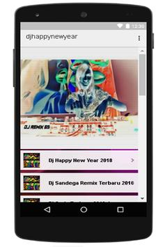 Dj Happy New Year Terbaru apk screenshot