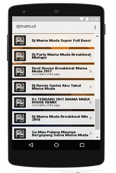 DJ Mama Muda House Music screenshot 3