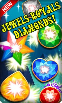 Jewel Toy Royals Diamonds New! Plakat