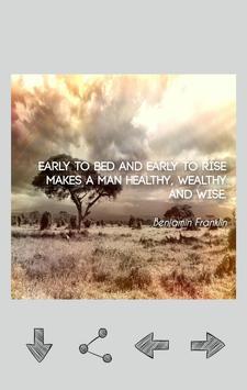 Benjamin Franklin Quotes poster