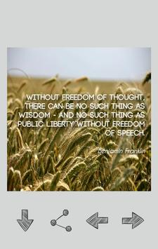 Benjamin Franklin Quotes screenshot 1