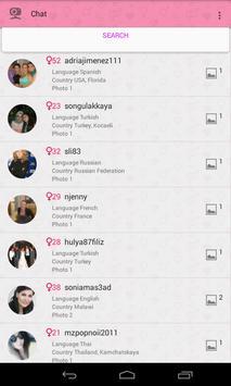 Video chat for single women apk screenshot