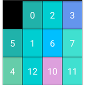 Number Slider Puzzle icon