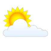 Sun and Clouds Free Live Wallpaper icon
