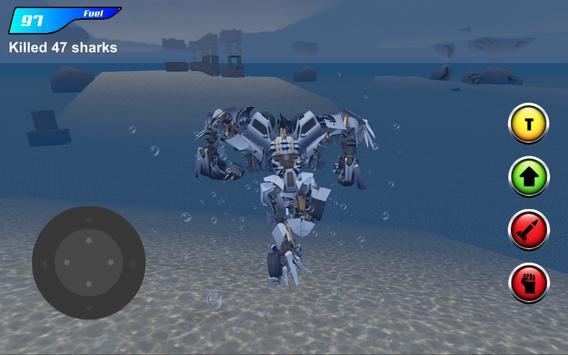 X Robot Car : Shark Water apk screenshot