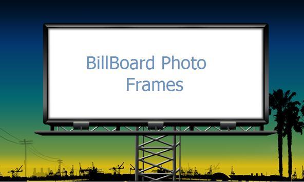 Billboard frames free poster