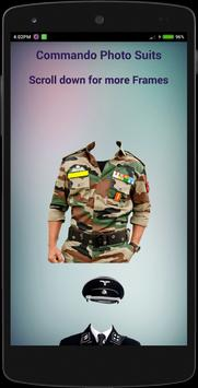 Commando Photo Suits apk screenshot