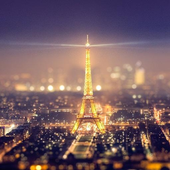 Eiffel Tower Night Light LWP icon