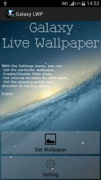 Galaxy Live Wallpapers poster