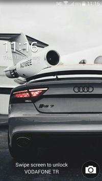 Wallpapers Audi RS7 Poster