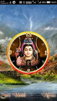 Shiva Clock poster