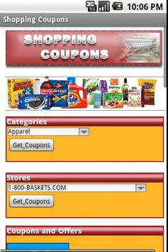 Shopping Coupons poster