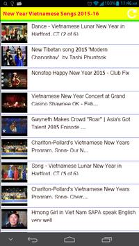 New Year Vietnamese Songs 2015 poster