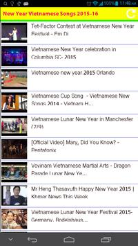 New Year Vietnamese Songs 2015 apk screenshot