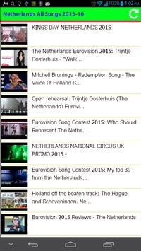 Netherlands All Songs apk screenshot