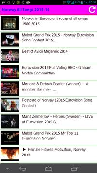 Norway All Songs apk screenshot