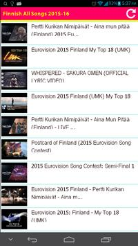 Finnish All Songs 2015 poster