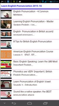 Learn English Pronunciation for Android - APK Download