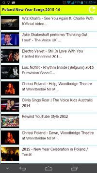 Poland New Year Songs 2015 apk screenshot