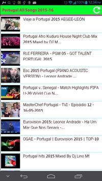 Portugal All Songs apk screenshot