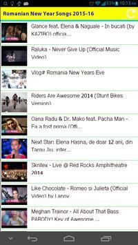 Romanian New Year Songs 2015 apk screenshot