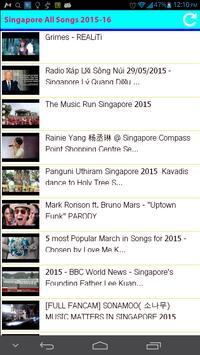 Singapore All Songs apk screenshot