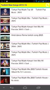 Turkish New Songs 2015 poster