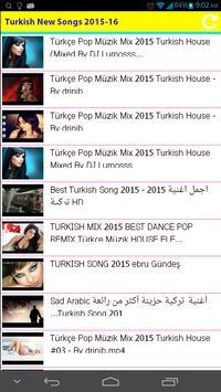 Turkish New Songs 2015 screenshot 2