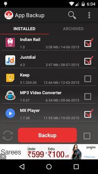 App Backup & Restore تصوير الشاشة 3