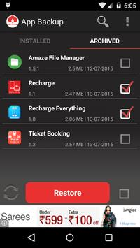 App Backup & Restore تصوير الشاشة 5