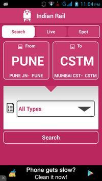 Indian Railway Status الملصق