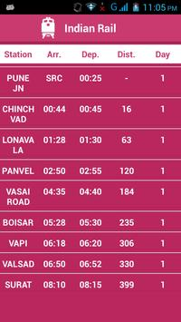 Indian Railway Status تصوير الشاشة 2
