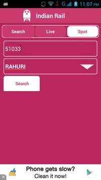 Indian Railway Status تصوير الشاشة 3