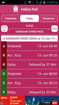 Indian Railway Status تصوير الشاشة 4