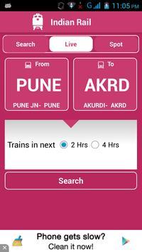 Indian Railway Status تصوير الشاشة 5