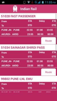 Indian Railway Status تصوير الشاشة 6