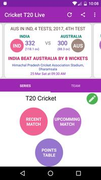 CRICKET T20 LIVE poster